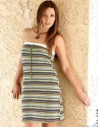 Anilos cougar lacey shows off her petite frame in public